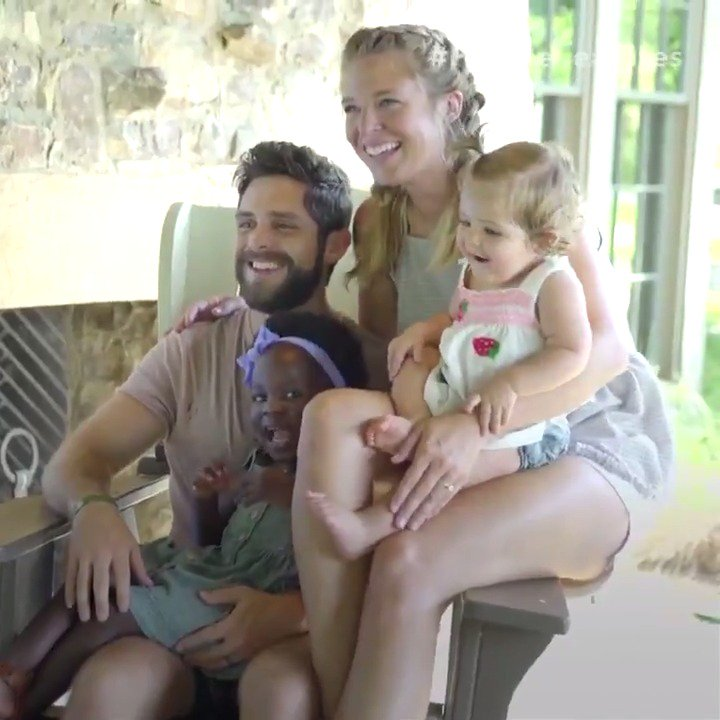 Happy birthday @ThomasRhett! We cannot get enough of you and your adorable family 💕
