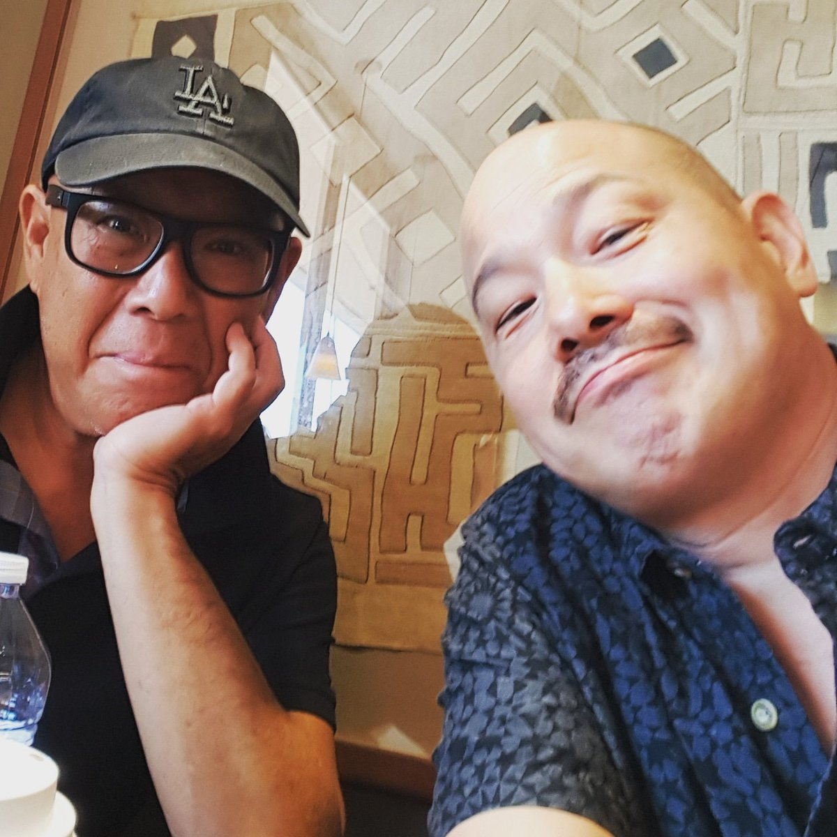 @MichaelPaulChan and I got together 25 years after #JoyLuckClub took his career to a whole &#39;nother level... the powerful effect that major studio-backed films can have on the careers of Asian American artists. Here&#39;s to a smashing #goldopen week for #CrazyRichAsians! #Inclusion <br>http://pic.twitter.com/xKiaXkv9Os