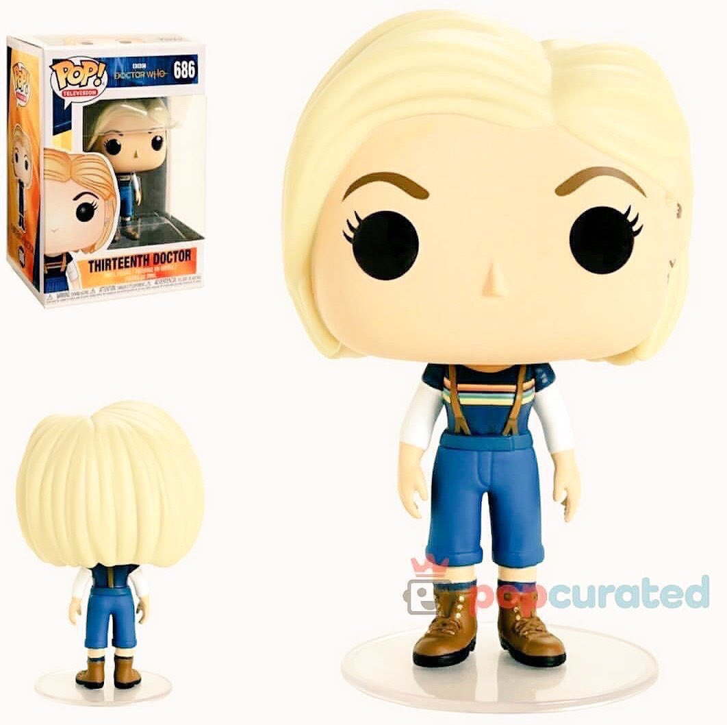 A new Thirteenth Doctor/Jodie Whittaker Funko Pop! Vinyl figure without coat, which will be available to pre-order soon!  #DoctorWho @OriginalFunko<br>http://pic.twitter.com/ZVJWqjkR6u