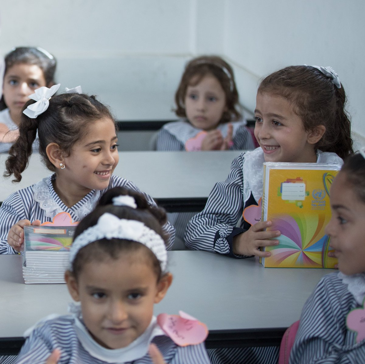 Lack of funding may prevent @UNRWA from reopening its classrooms to half a million Palestine refugee girls and boys. Education is their right. I call on donor countries to step up.  https://www. unrwa.org / &nbsp;  <br>http://pic.twitter.com/JBZDvMYC0J