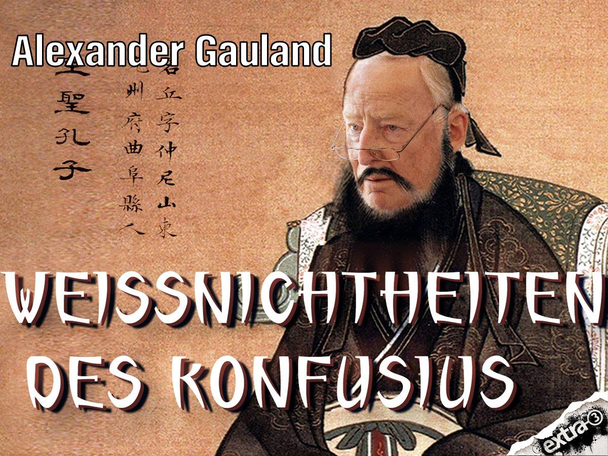 Konfusius sagt: Du sollst extra 3 gucken.  22:50 Uhr im NDR oder im Livestream auf https://t.co/QrB0Y2YM1T.