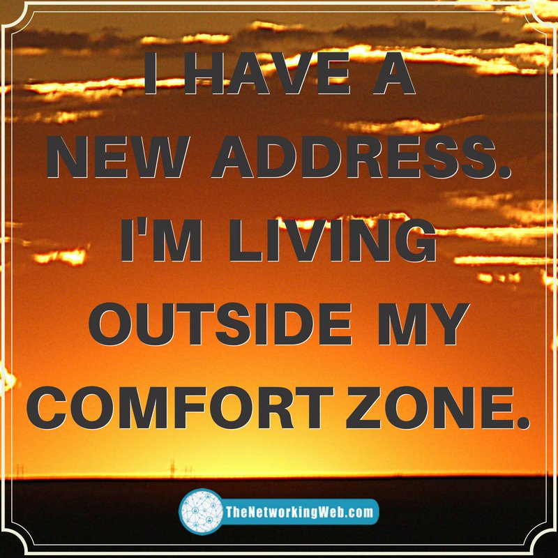 I have a new address, I&#39;m living outside my #ComfortZone   #WednesdayWisdom<br>http://pic.twitter.com/3QTqSWHIz5