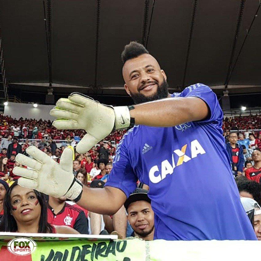 🔴⚫ MURALHA da massa marcando presença no MARACA! HAHAHAHAHA  #CopaDoBrasilFOXSports