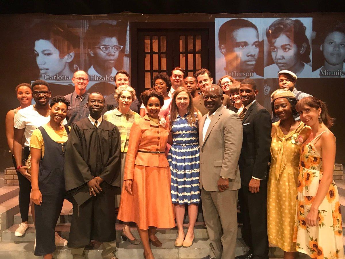 Thank you to the extraordinary cast, crew & creative team of Little Rock  fo@SheenCenterr a gripping performance tonight. If you're in New York, hope you get a chance to see it before September 8th!