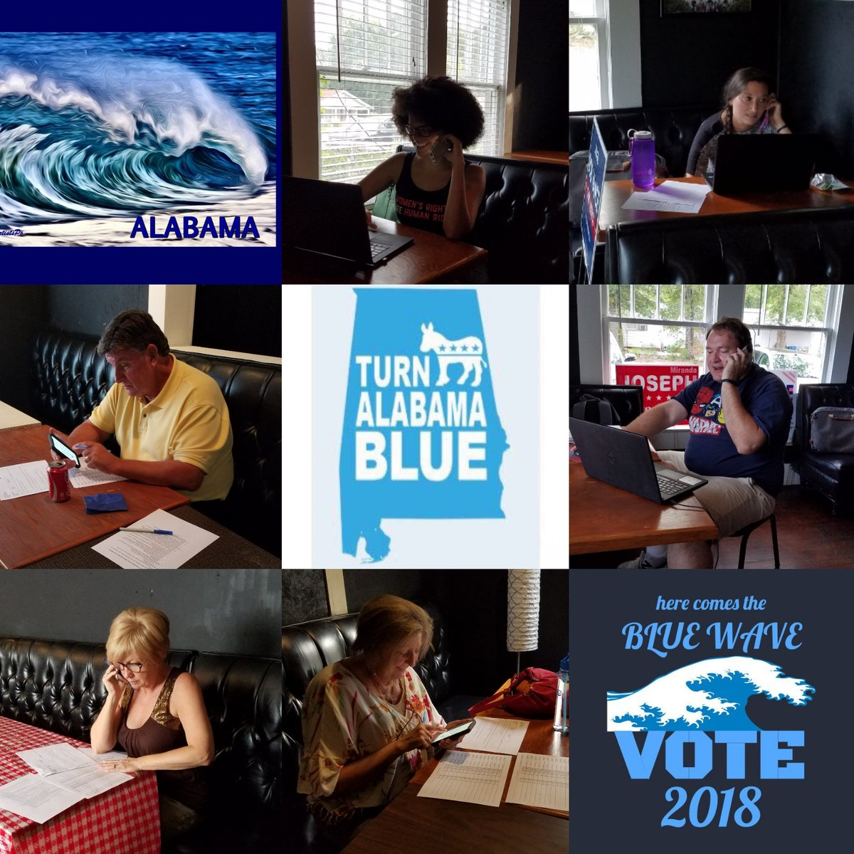 An extremely successful night of introducing friendly #ALDems to our candidates and giving out yard signs.   Join us every Wed and Thurs 5-8 pm, 3510 Loop Rd.  If you can&#39;t call, donate:  http:// store.tuscaloosademocrats.org / &nbsp;    #alpolitics #FlipItBlue #BlueWave2018 #BlueWave <br>http://pic.twitter.com/hlFlyt4JVp