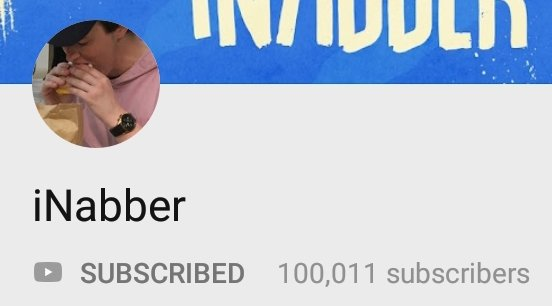 @iNabberTV watching you go from 700 subs to 100k subs has been extremely motivating  Thank you and congrats You deserve it, as well as the Gucci gang tattoo!! <br>http://pic.twitter.com/U7mLYBBIzN