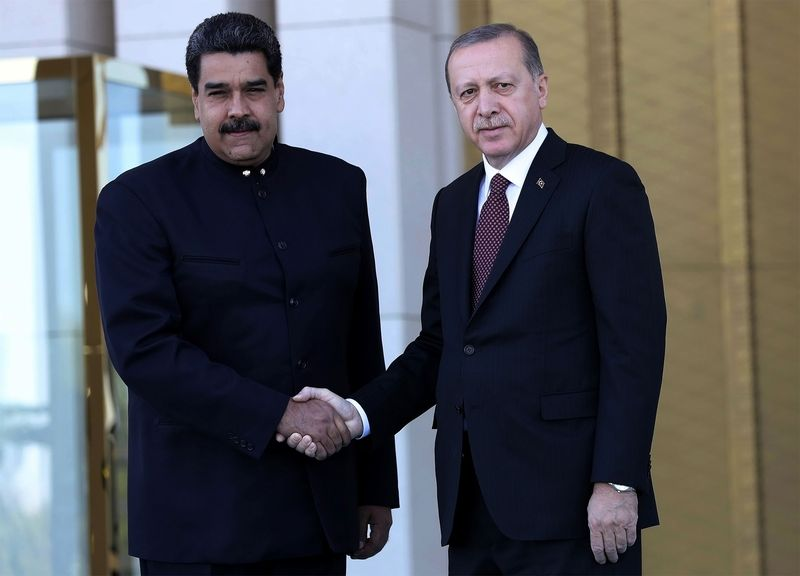 The danger of putting autocrats in charge of the economy. They need growth to keep the public happy and to pay off cronies but that tends to lead to hyperinflation and a plunge in the value of their currency: Mugabe, Maduro, Erdogan.  http:// bit.ly/2Mq2SGK  &nbsp;  <br>http://pic.twitter.com/YWuo3RDJVm