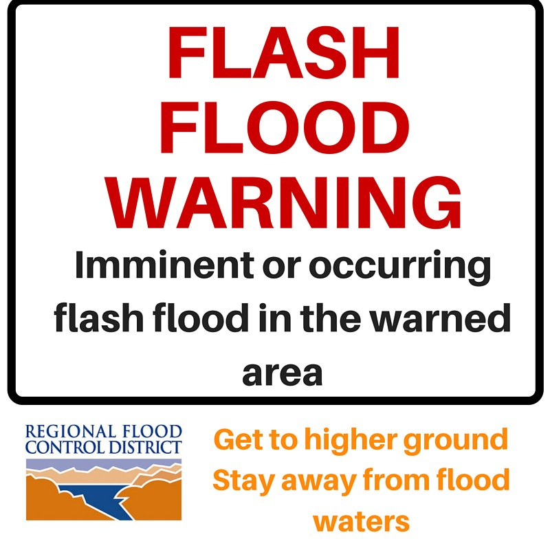 The @NWSVegas has issued a #flashflood warning for southwestern @ClarkCountyNV until 5:45pm. Some locations that will experience flooding include Cima, Primm, Mountain Pass, Nipton, and Ivanpah Rds. Get to higher ground. Never drive through a flooded street! #vegasweather<br>http://pic.twitter.com/woJDkMYUbQ