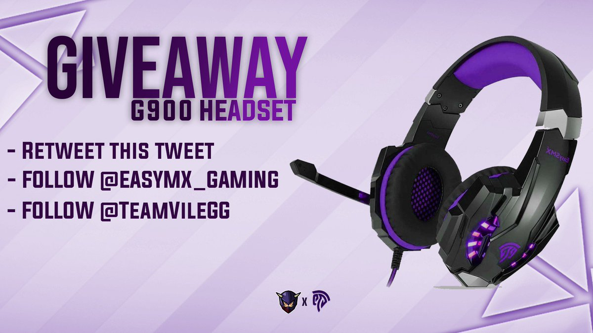 Team Vile Roster Announcement Edit Headset Giveaway  Prize: G9000 Headset  How To Enter: •Retweet •Follow @TeamVileGG and @EasySMX_Gaming   Winner picked in one week! #Fortnite <br>http://pic.twitter.com/nDBKHhGvVa