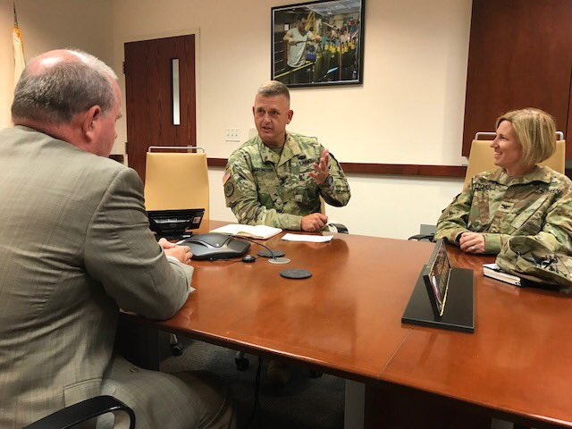 Another key part of the base is Crane Army Ammunition Activity. It is a leading installation in the demilitarization of obsolete munitions. Thank you Col. Michael Garlington, Commanding Officer, CAAA, and Col. Michelle Letcher, Commander of the U.S. Army's Joint Munitions Command