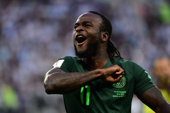 Why Victor Moses dumped Nigeria forChelsea Foto