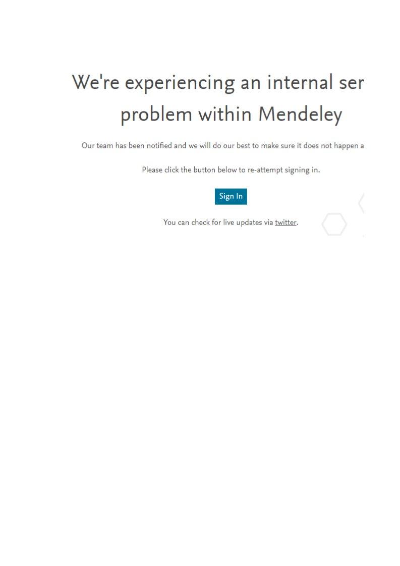 Mendeley Support on Twitter:
