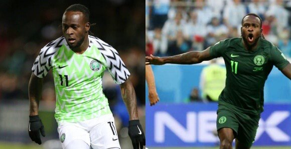 Super Eagles Winger, Victor Moses Retires From InternationalFootball. Foto