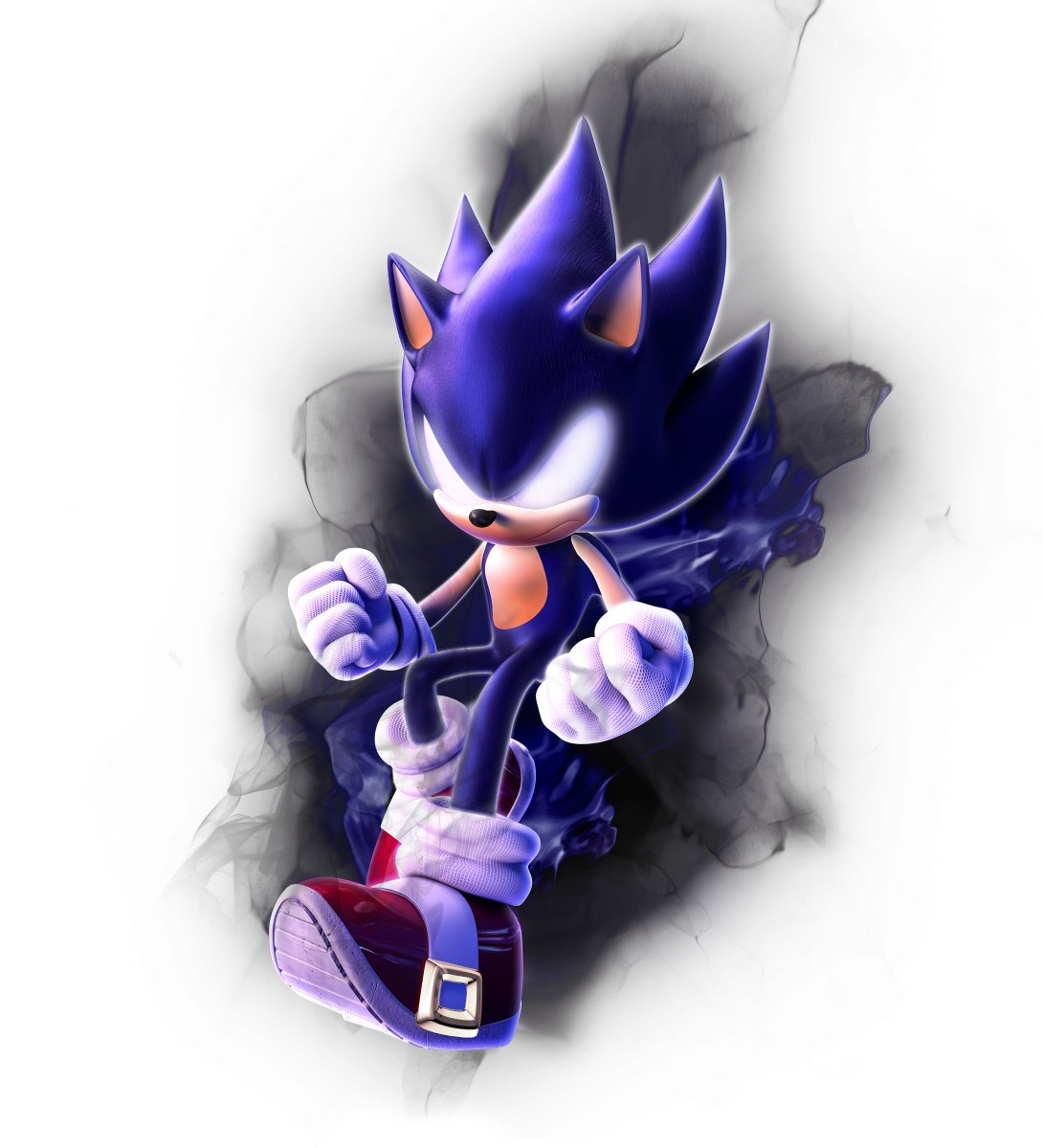 Remade official Super Sonic render into Dark version :^) <br>http://pic.twitter.com/Tq3M1PyVER