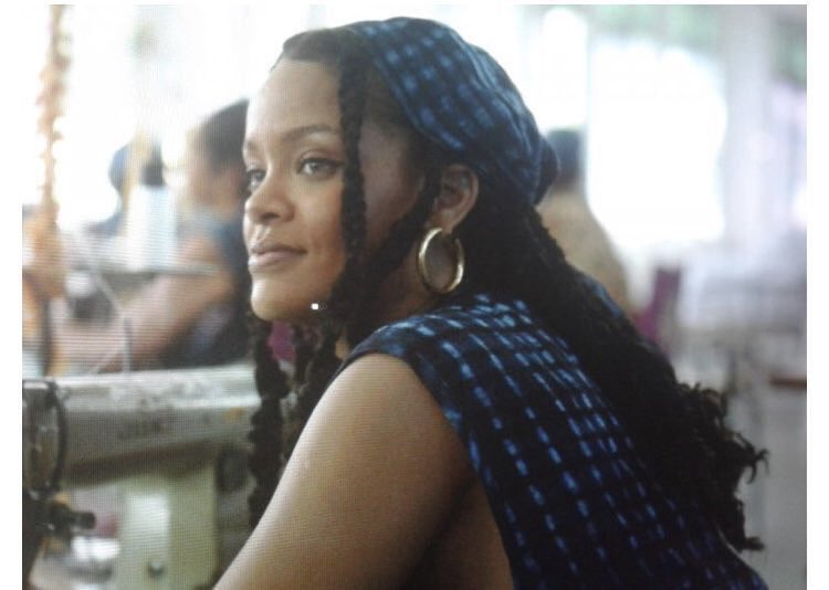 Rihanna on the set of Guava Island<br>http://pic.twitter.com/AMMDvJlYne