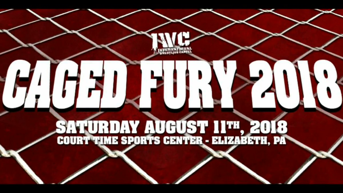 Caged Fury from @IWCwrestling now available digitally!!!! VOD: ow.ly/jPtf30lq68H MP4: ow.ly/indd30lqg1I #kingoftheindies