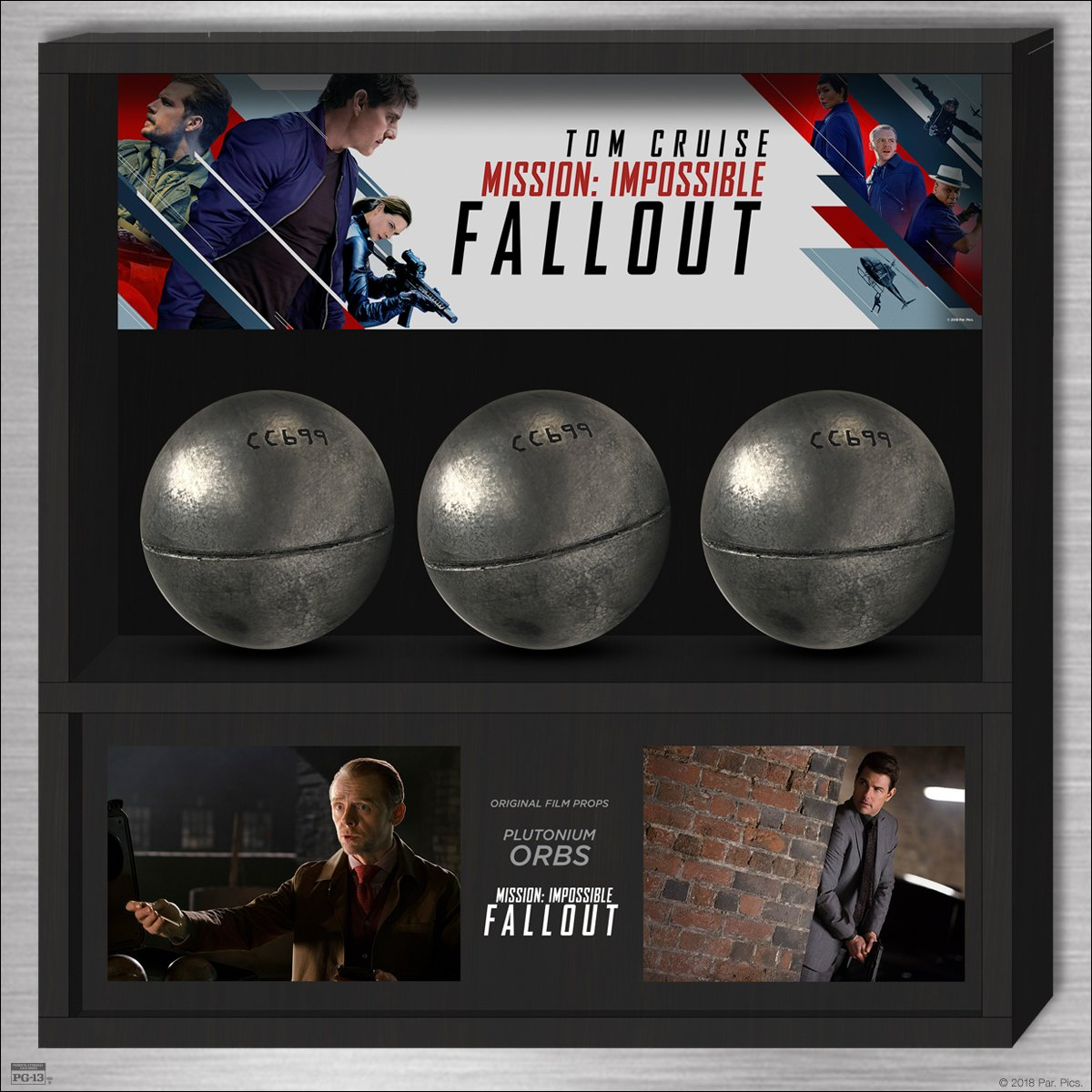 Last chance! FOLLOW &amp; RT for your chance to win the set of plutonium orb props from #MissionImpossible Fallout! Get tix now:  http:// amc.film/2KkSrEb  &nbsp;  <br>http://pic.twitter.com/fzU1VOXQnn