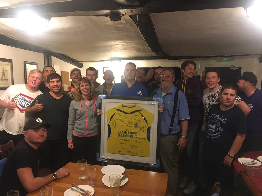 Great meeting for @CityYouthFC Disability FC at the Bull Pub London Colney. Brill sponsors &amp; hospitality from them! <br>http://pic.twitter.com/AAwEY7dI7n