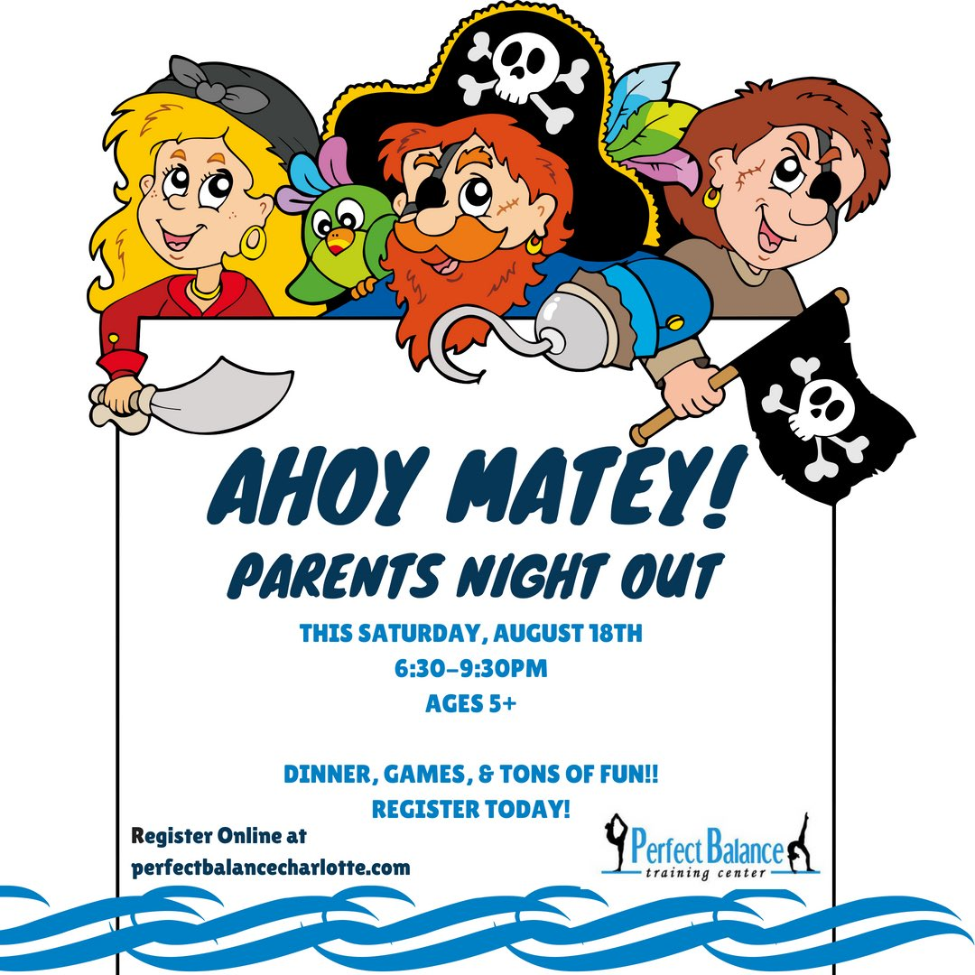 Parents Night Out is THIS Saturday! Parents, enjoy a night out while your kids join us for dinner &amp; lots of FUN!   Register today at  http:// perfectbalancecharlotte.com  &nbsp;     See you there!!<br>http://pic.twitter.com/6eW6KCZX7v