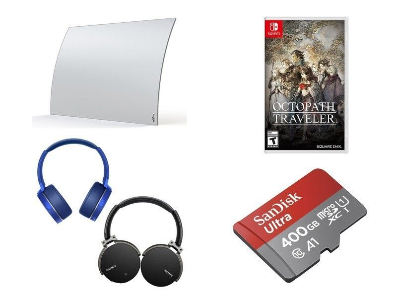 The video game Octopath Traveler, over-the-air antennas, Bluetooth headphones, and more are all discounted today https://t.co/S6D3FdZPmY