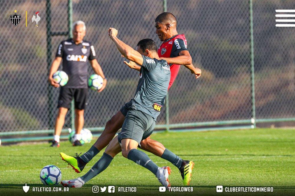 A atividade deu sequência à preparação alvinegra para o jogo contra o Botafogo, pela 19ª rodada do Brasileirão, a última do primeiro turno.   Vamos #Galo, !
