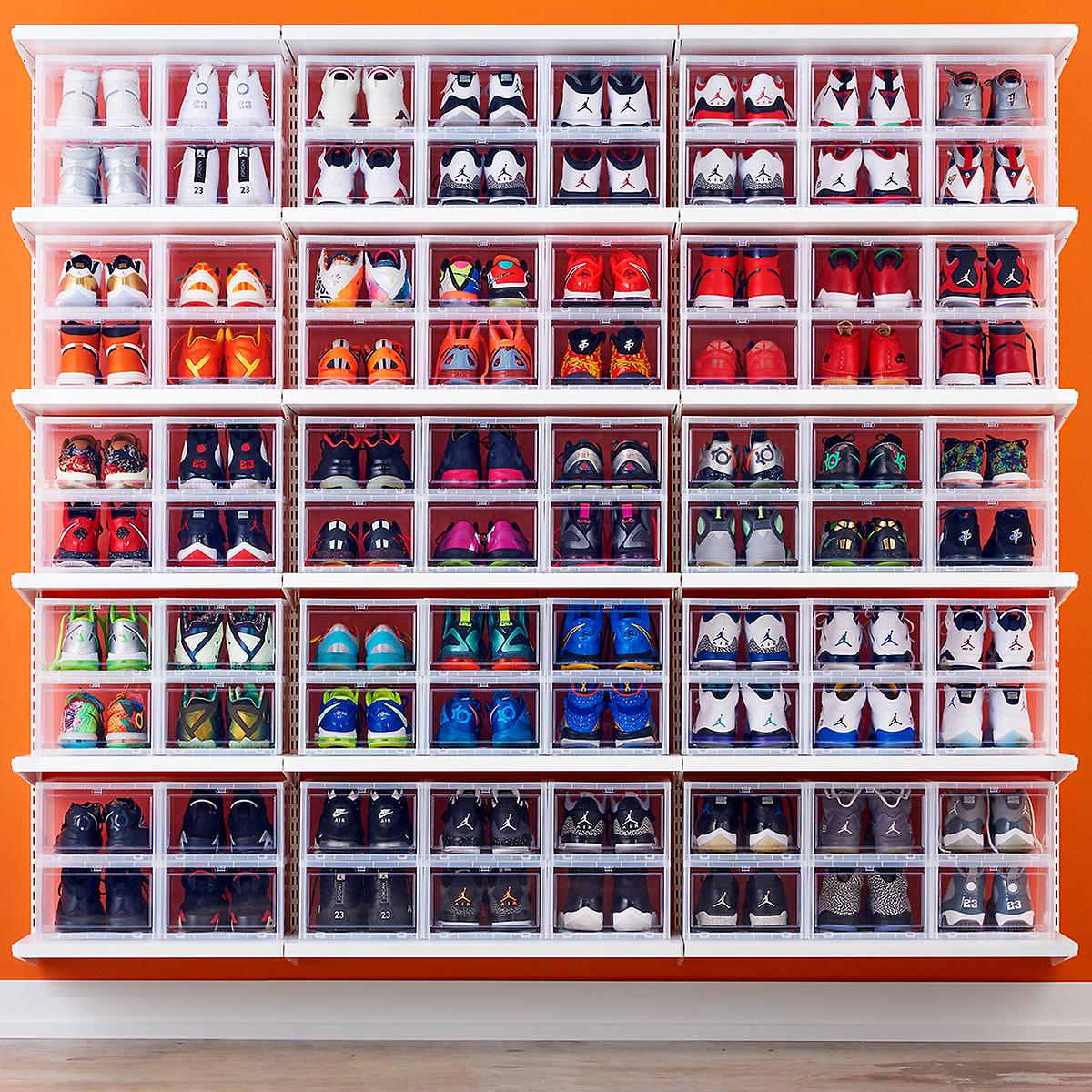 On Sale: 20% OFF Container Store Drop Front Sneaker Boxes   BUY HERE:  http:// bit.ly/2MowxjH  &nbsp;  <br>http://pic.twitter.com/3DF4EuSpOk