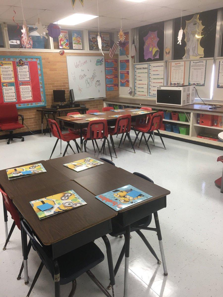 @LamarElementary Mrs. Miser's Super 4th Grade is ready for students tomorrow! #iamwfisd #BeTheOne