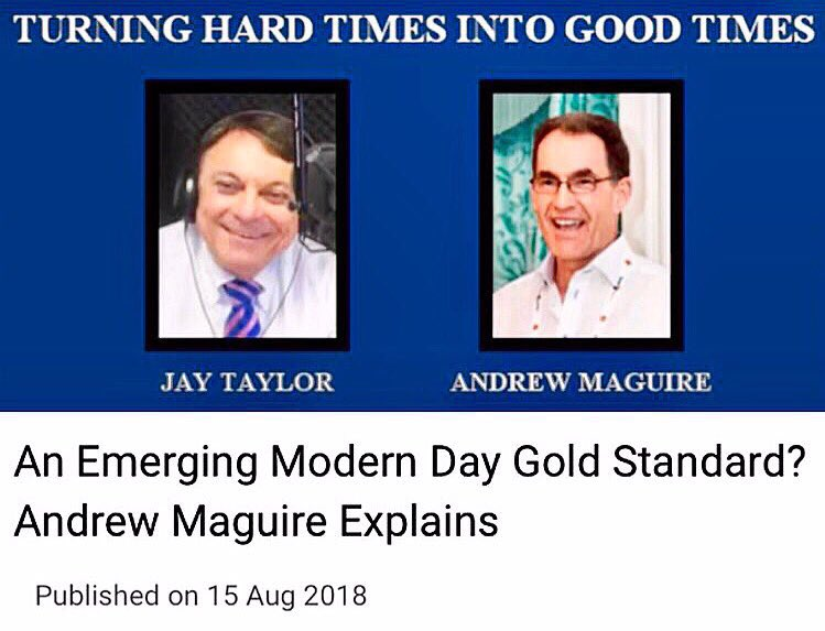 In this interview with @JayTaylorMedia, @andrewmaguire1 explains how Kinesis Monetary System, which combines #gold &amp; #silver with #blockchain technology, enables transactions and earns a yield. •  https://www. youtube.com/watch?v=zVXBCp fkYBY&amp;feature=youtu.be &nbsp; …  #crypto #investor #money #btc #eth #oro #plata #market #ico<br>http://pic.twitter.com/HlOeQ8tHtm