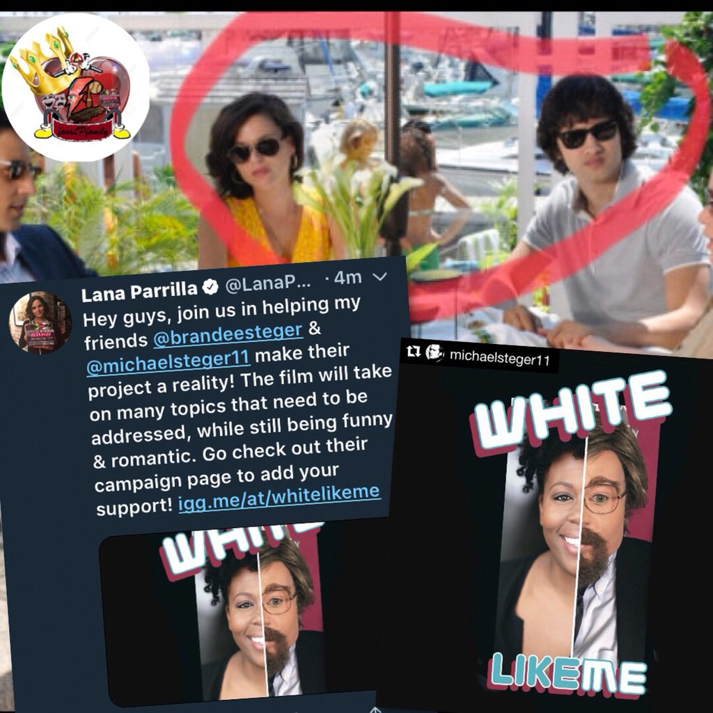 Don't forget to support &amp; contribute to @MichaelSteger11 's project  @BrandeeSteger a friend of @LanaParrilla from #CovertAffairs do you remember?!  https://www. indiegogo.com/projects/white -like-me-drama#/ &nbsp; … <br>http://pic.twitter.com/4HnItM7oBB