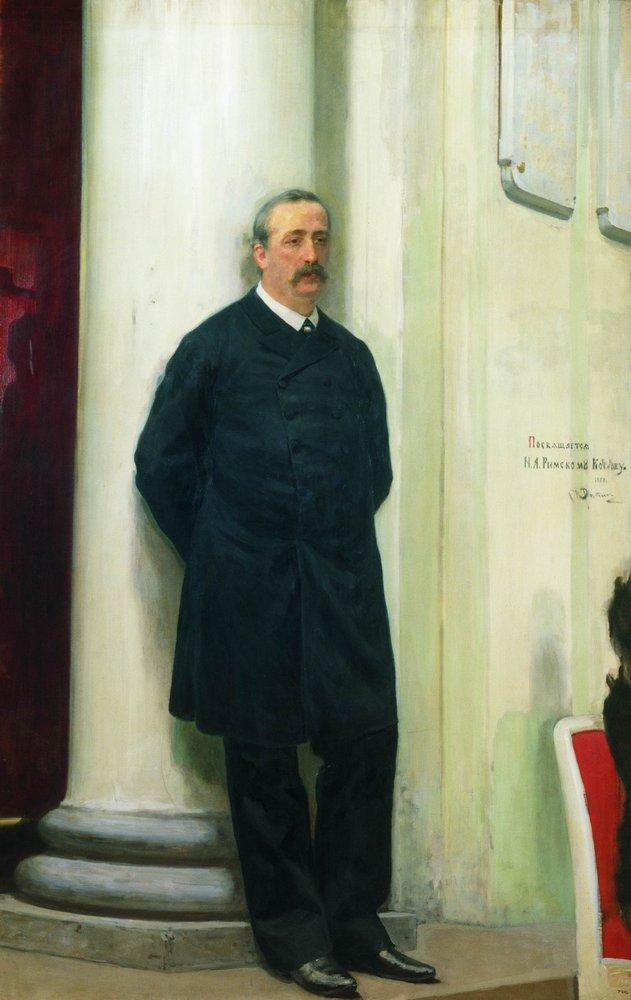 Portrait of composer and chemist Aleksander Porfirievich Borodin #repin #russianart<br>http://pic.twitter.com/nRbTj1tFT9