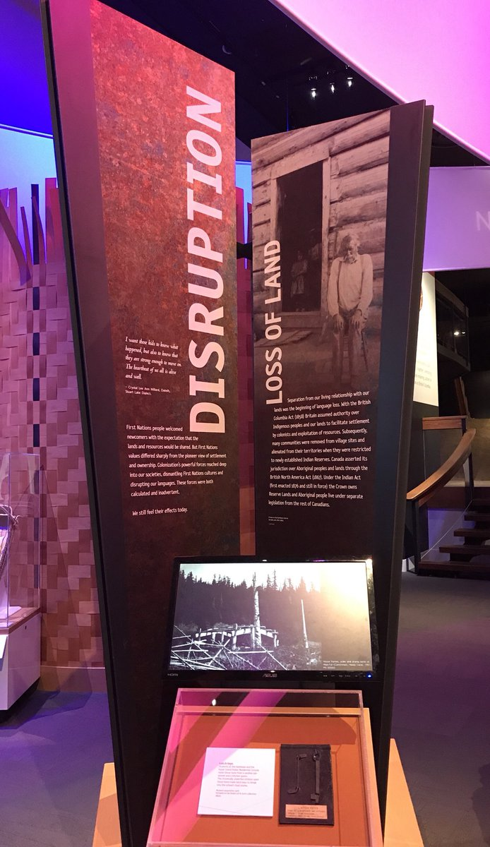 "Mesum Of Living Languages royal bc museum on twitter: ""a sad part of bc's history. exhibitions"