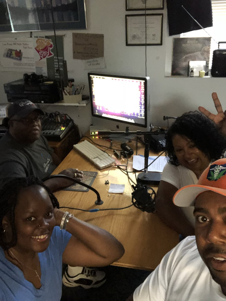 Just completed a radio interview with Felice Thomas from the #FaithThomasFoundation to air next Weds 8/22 at 7:30pm on WGRN 94.1 #OhioHerbalClinic #MedicalMarijuana