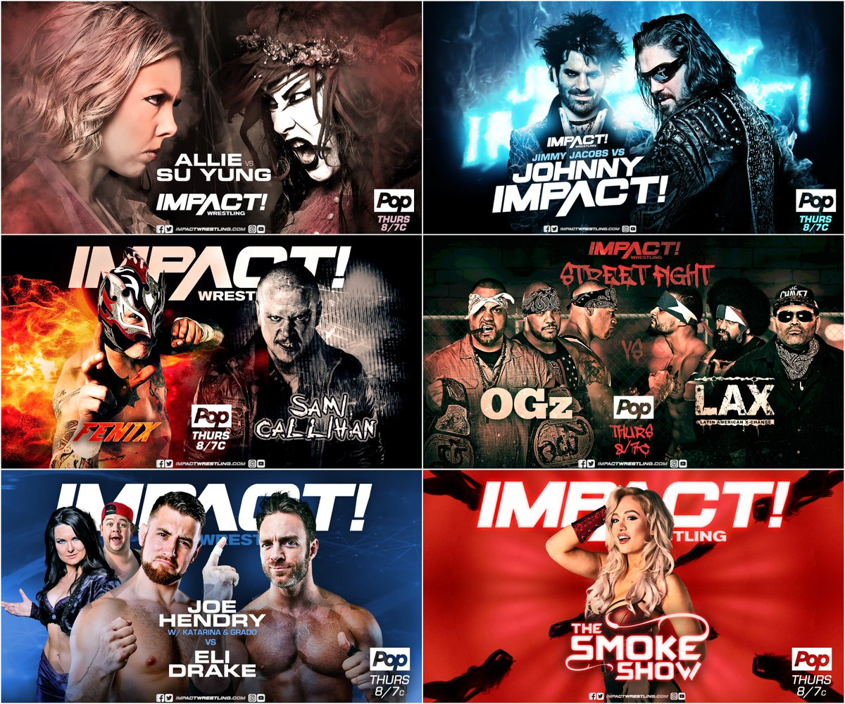 What are you most looking forward to on tomorrow&#39;s episode of IMPACT?   We are only 24 HOURS AWAY! #IMPACTonPop <br>http://pic.twitter.com/Csr4KHFaqF