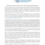 La Red de Parlamentarios de Acción Global (@PGAction), con representación en parlamentos de 140 países, condena la violación de los serenos civiles y políticos de @JuanRequesens