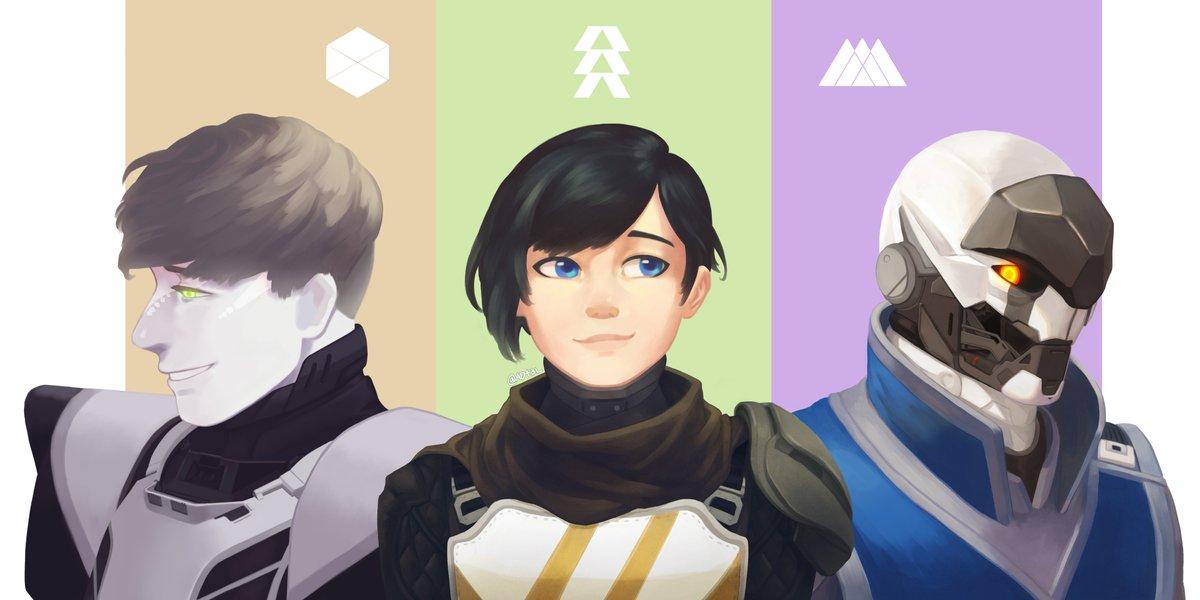 Guardians 🎨 by Jinja - bungie.net/en/Community/D…