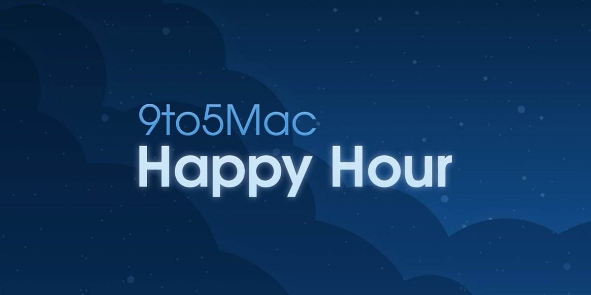 9to5Mac Happy Hour 186: Group FaceTime delay, Twitter API damage, 2018 iPhone rumors https://t.co/5sLly39x32 with @apollozac and @bzamayo   Our thanks to @Hyper and @molekuleair for sponsoring this week!