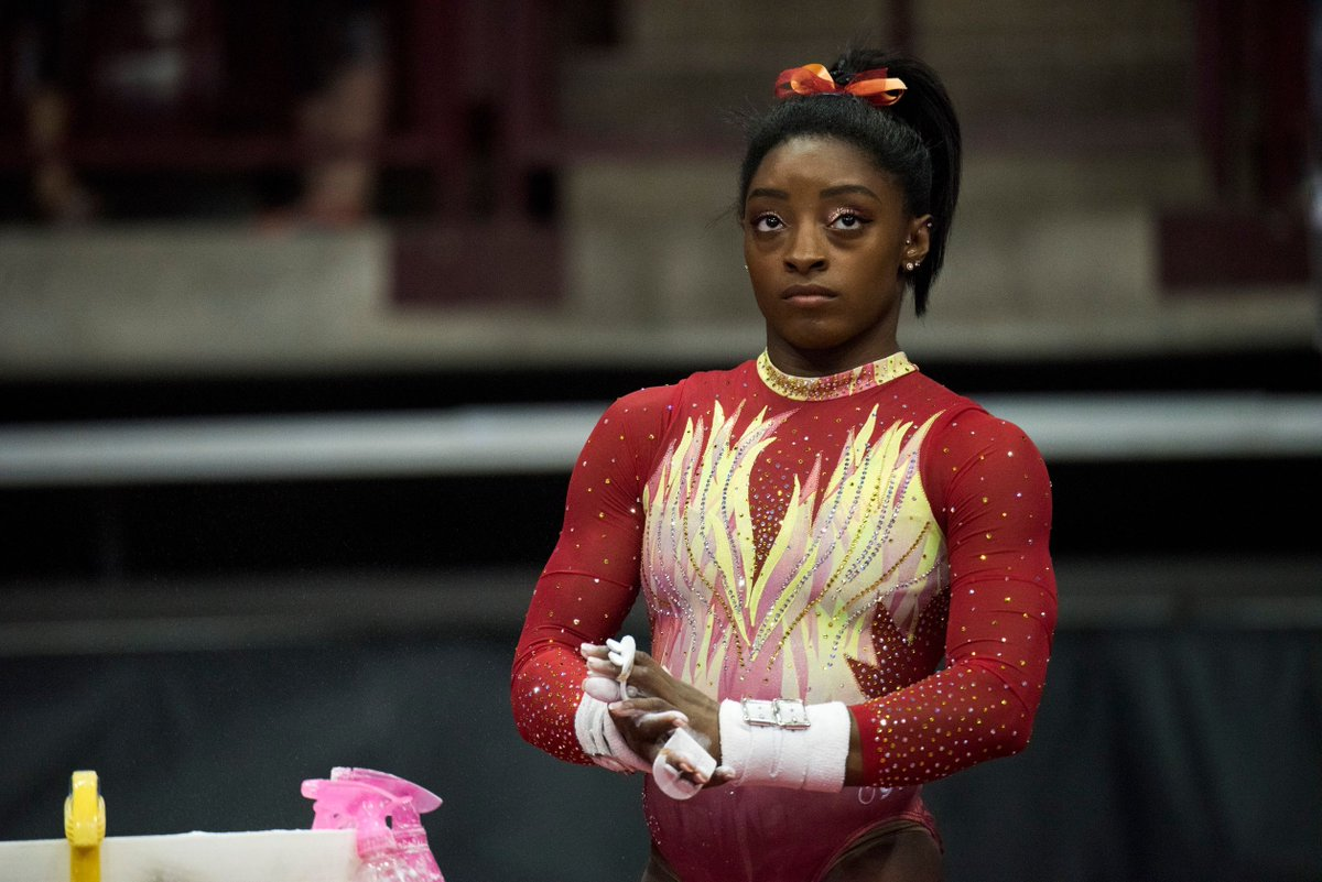 """Simone Biles has had enough of the silence from USA Gymnastics CEO Kerry Perry  https:// buff.ly/2MlkcgU  &nbsp;    """"Hopefully it's going in the right direction, but nobody can know until Kerry Perry speaks up. So it's kind of hard.&quot;<br>http://pic.twitter.com/6nQZgzRIm6"""