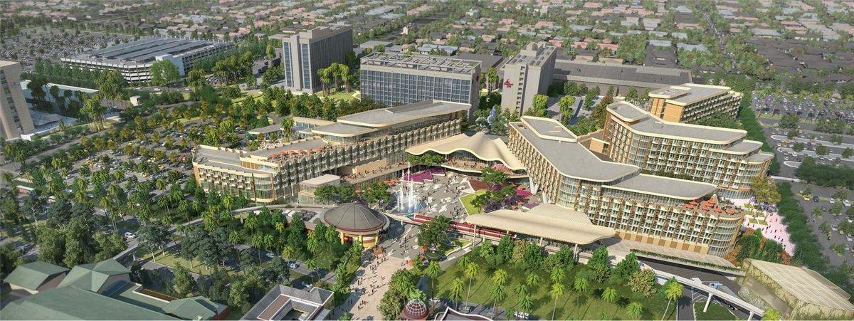 New Concept Art, Disney&#39;s Revised Plans for the New Disneyland Hotel in Anaheim   https:// wdwnt.news/18081511  &nbsp;  <br>http://pic.twitter.com/g9gAxH0f4c