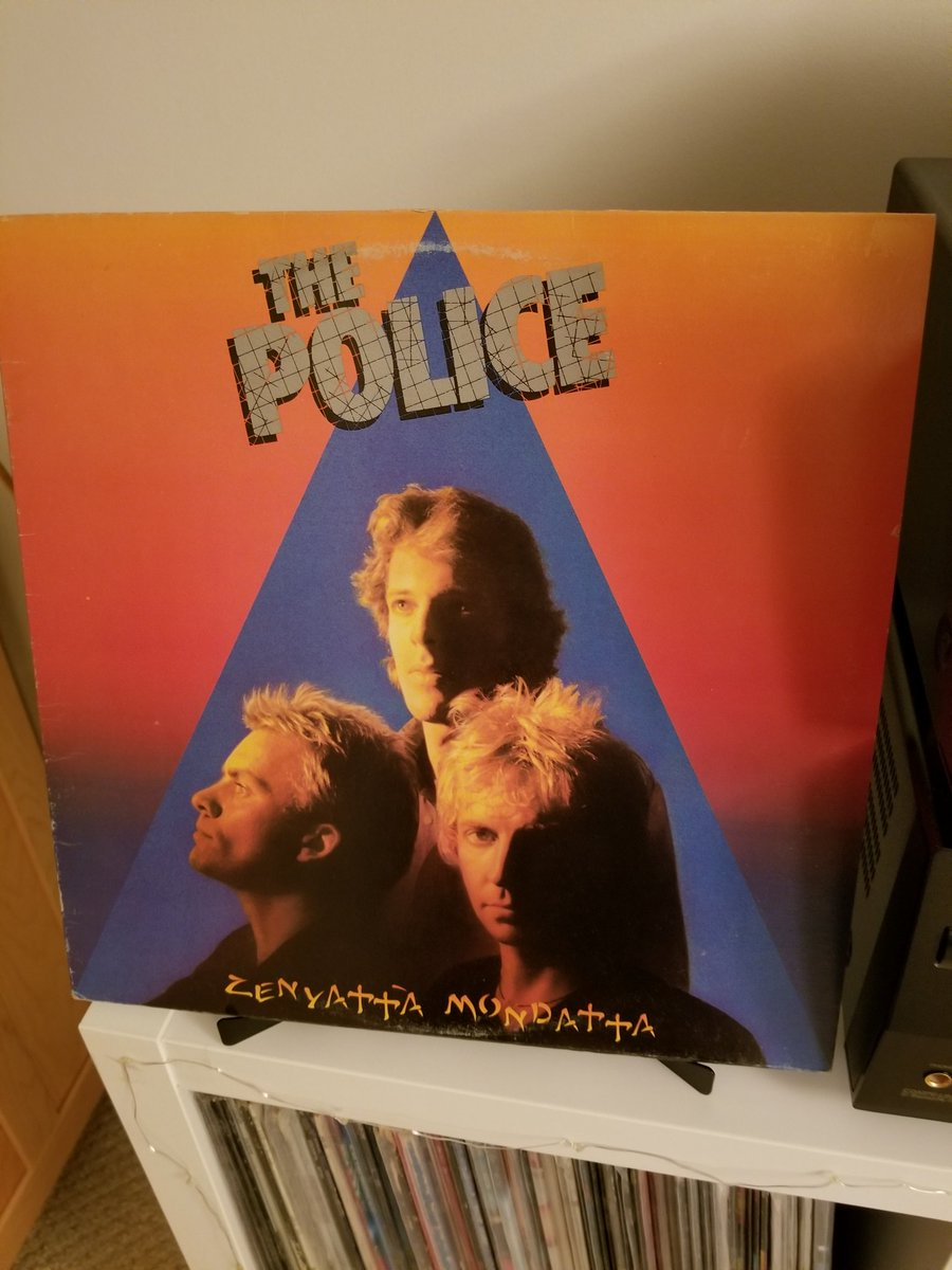 Day 123 tweeting #MyRecordCollection is The Police&#39;s wicked album Zenyatta Mondatta. Tough to follow up Reggatta de Blanc but they did it. Don&#39;t Stand So Close To Me was the song that drew me in to this phenomenal record. Classic. #ClassicRock #vinylrecords #80smusic<br>http://pic.twitter.com/OrIBPQlDwP