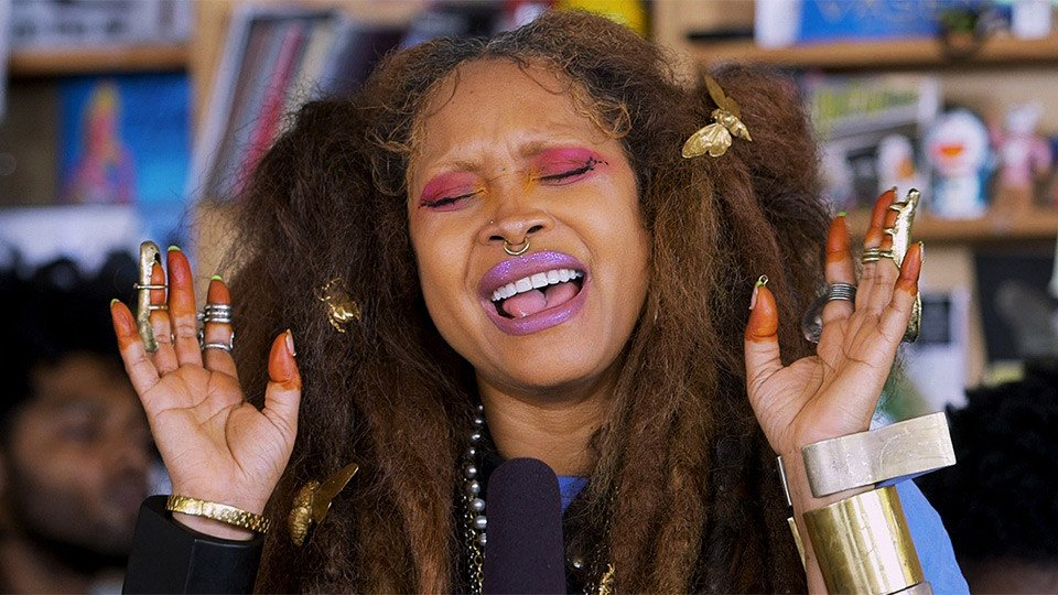 Erykah Badu's @NPR Tiny Desk Concert will restore your energy today:  https://t.co/qOUPdU3I8Q https://t.co/ovntZkbJ95