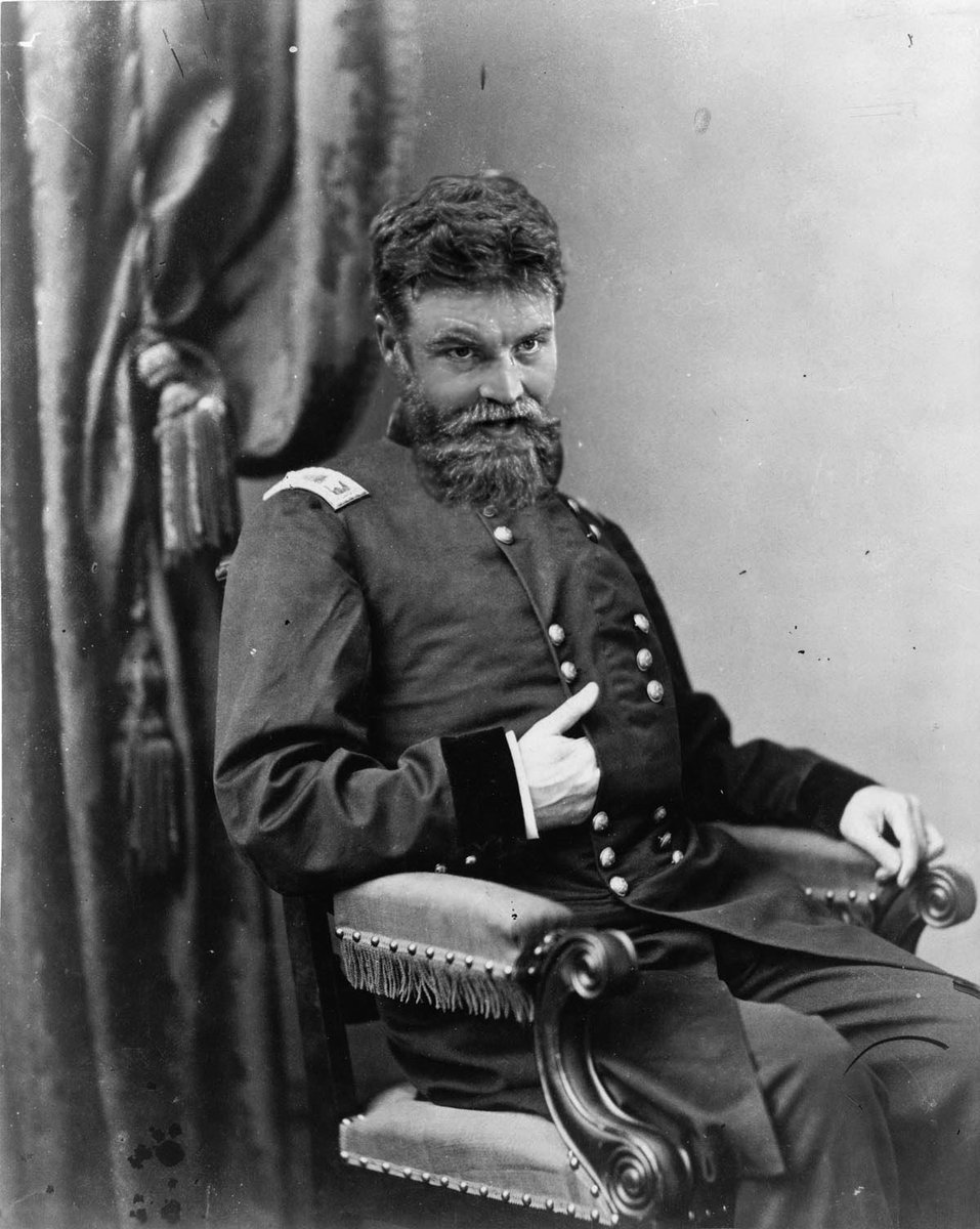 My Dear Liza,  Tonight we are resting after a practice skirmish with the mountain hillbillies this morn. My squad performed well and my sidearm is not weary. We dined on hog jowl soup and rutabagas. I feel slightly gassy, but satisfied.   Love Like J.W. Booth Loves to Act,  Ryan <br>http://pic.twitter.com/qiFHOArJwC