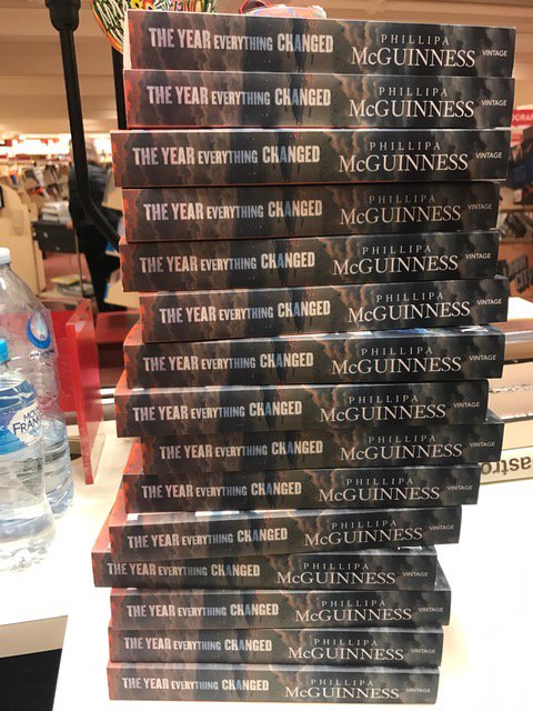 Signed this big pile of books at @Dymocks_Sydney this morning. In lead up to Fathers Day I couldn&#39;t help but think that there must be dads out there who read books by women, books not (entirely) about war, books not about sport, books that aren&#39;t thrillers. Just sayin&#39; #TYEC2001<br>http://pic.twitter.com/l098LS2wuB