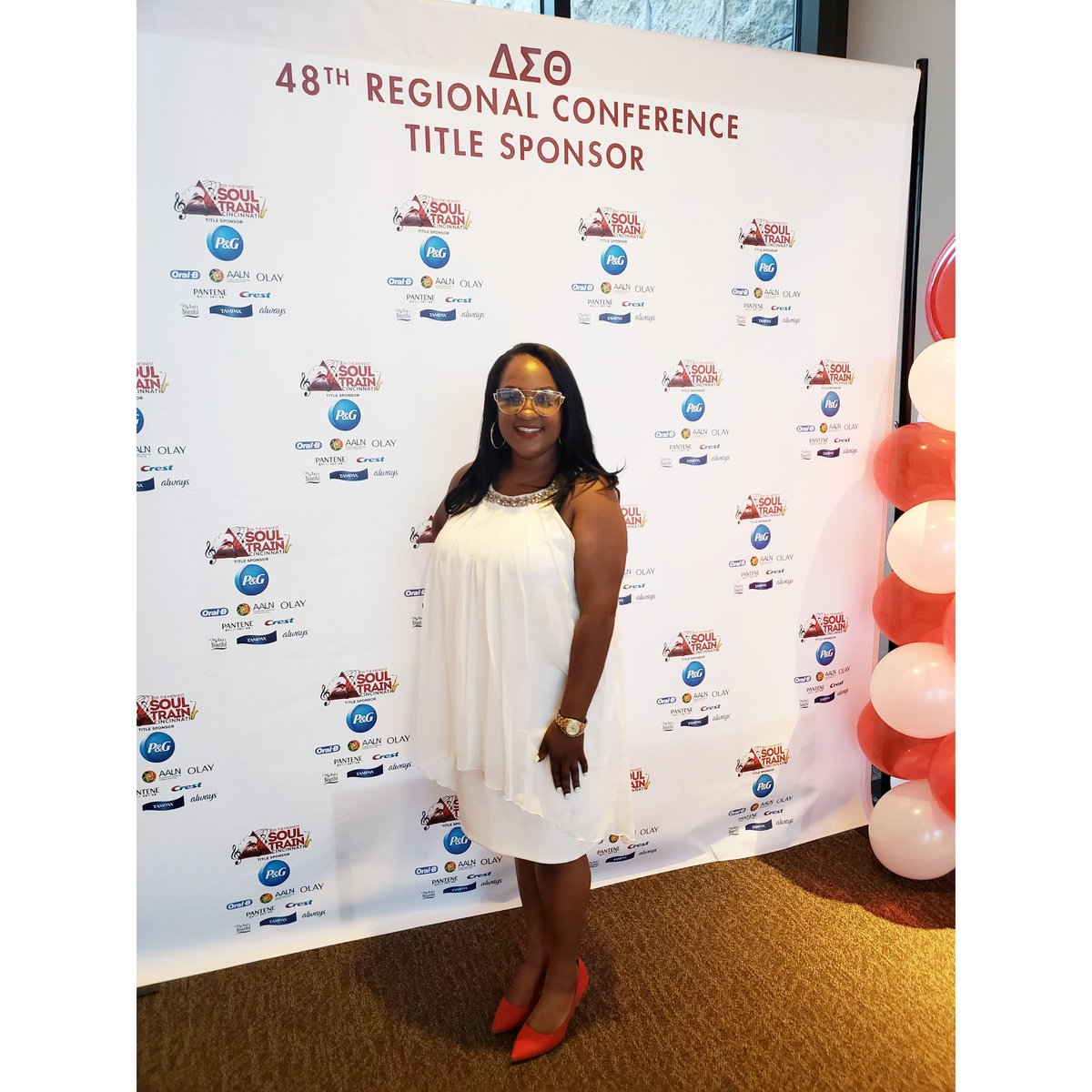 Lizzieg Hashtag On Twitter Pantane Hanging With Vip Sponsors Of The 48th Midwest Regional Conference Delta Sigma Theta Sorority Inc In Cincinnati Ohio