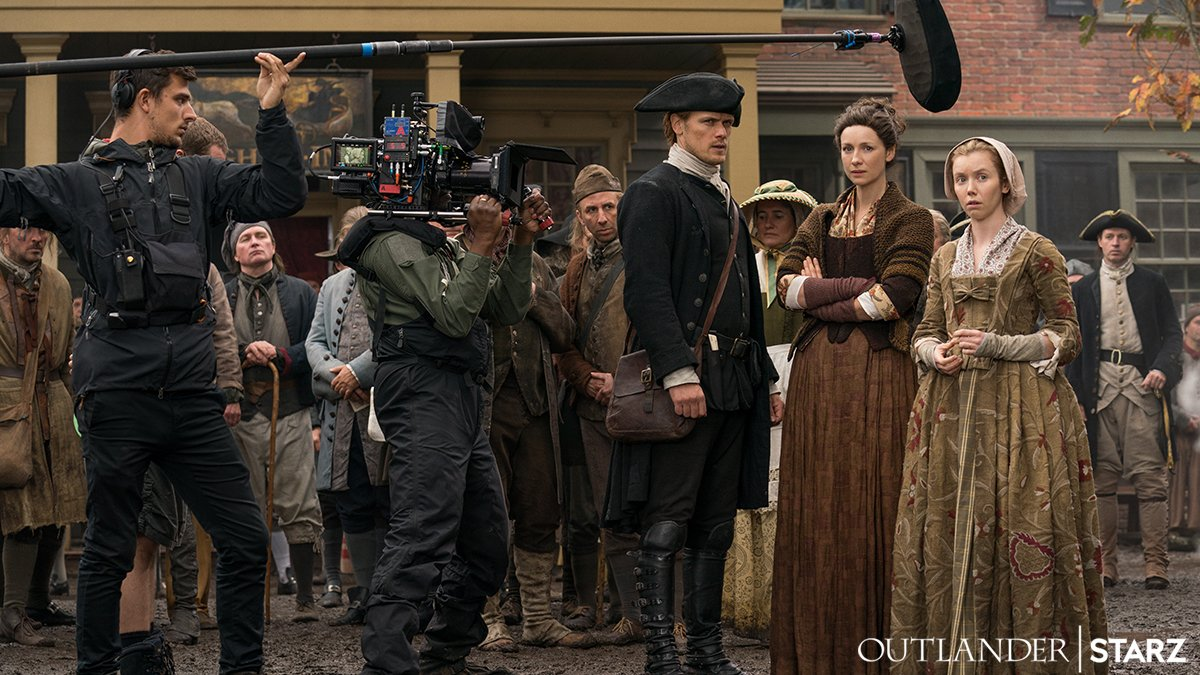 Our #ThursdayThoughts are the same as our thoughts every other day of the week: #Outlander November 4, #Outlander November 4, and #Outlander November 4.