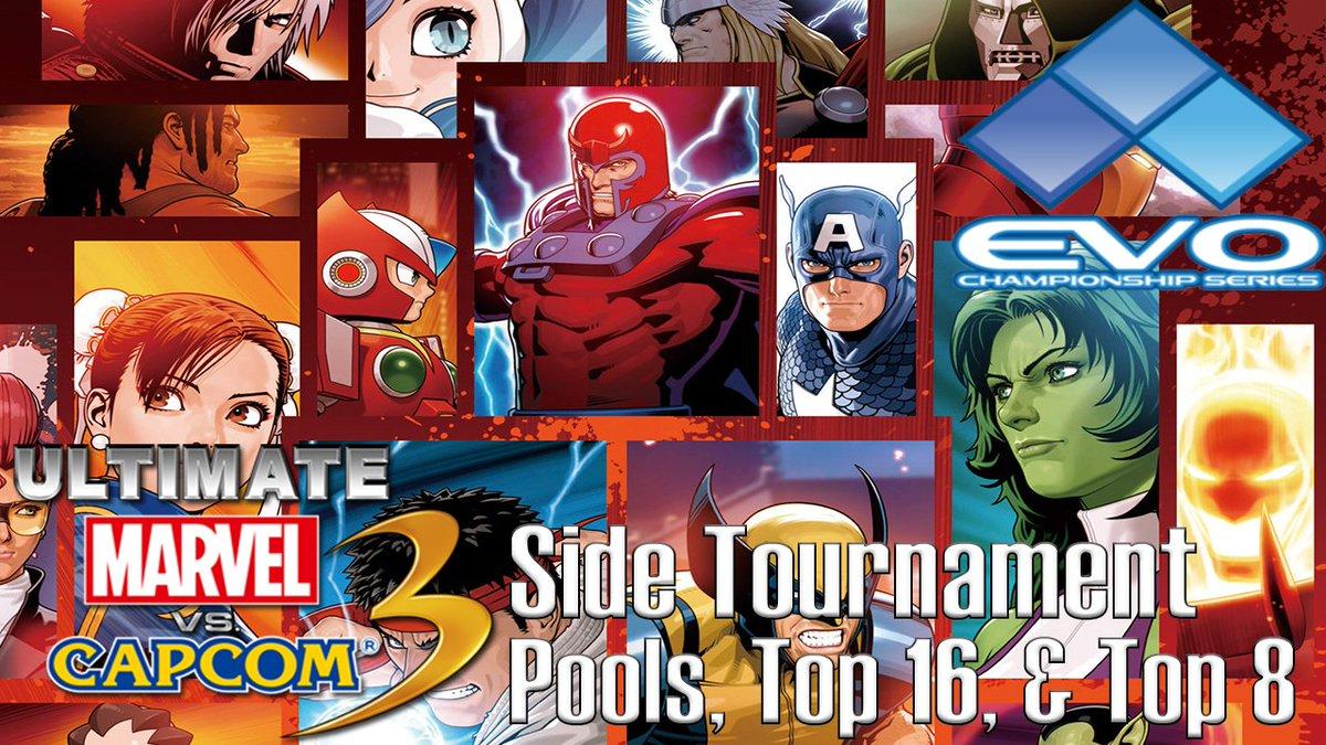 EVO 2K18 - UMVC3 Side Tournament (Pool Matches, Top 16, &amp; Top 8)  https://www. youtube.com/watch?v=gDAJvH DQv7o &nbsp; …  @AZAngelic @kbkinderparty @MarvelLives @airborneisfly @DJ_Vest @OG_WarDestroyer @SenorDonNelson @IFCYipeS @Persia_xo @DyeoJ @GoldenboyNeo @drsnaketits @thesackutapu<br>http://pic.twitter.com/su14bA46NB