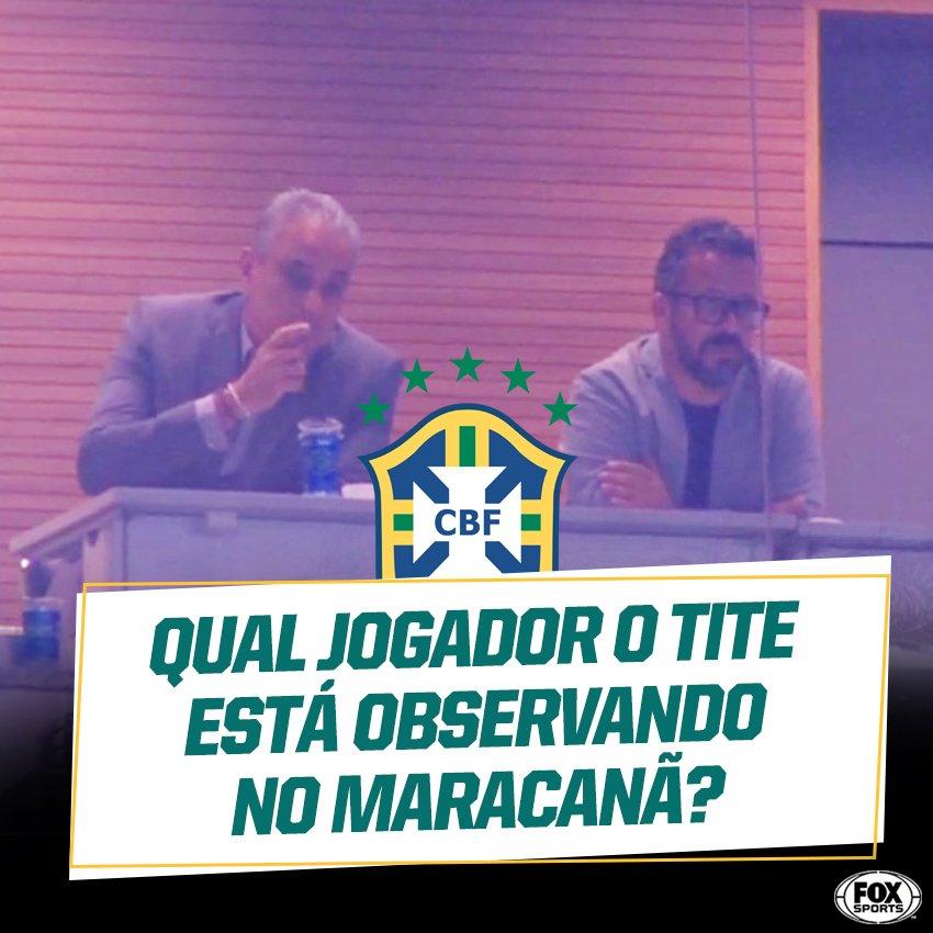 O jogo é @Flamengo x @Gremio. Quem tem chance com Tite?   #CopadoBrasilFOXSports