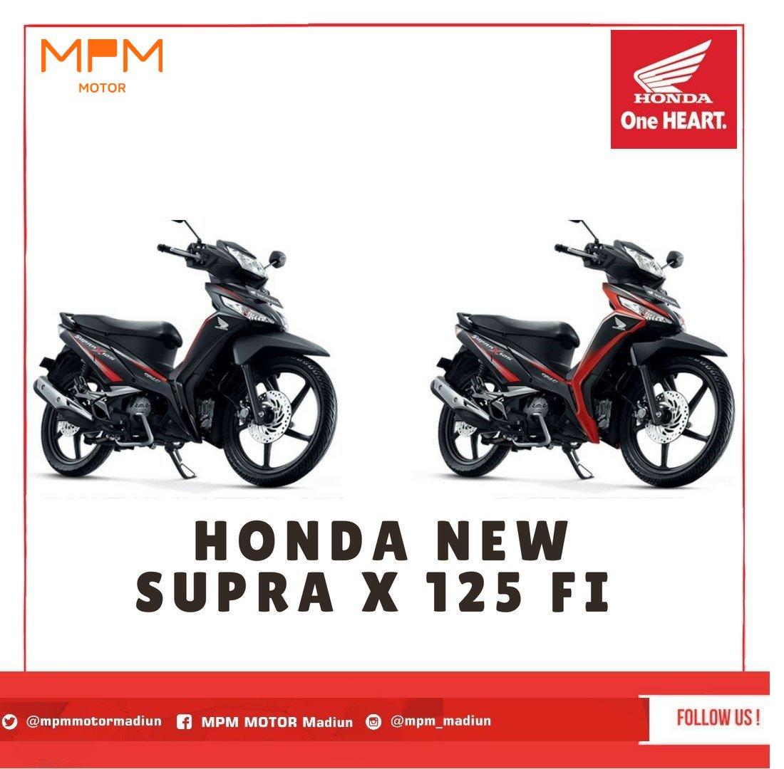 Honda Supra X 125 Fi Spoke Fi