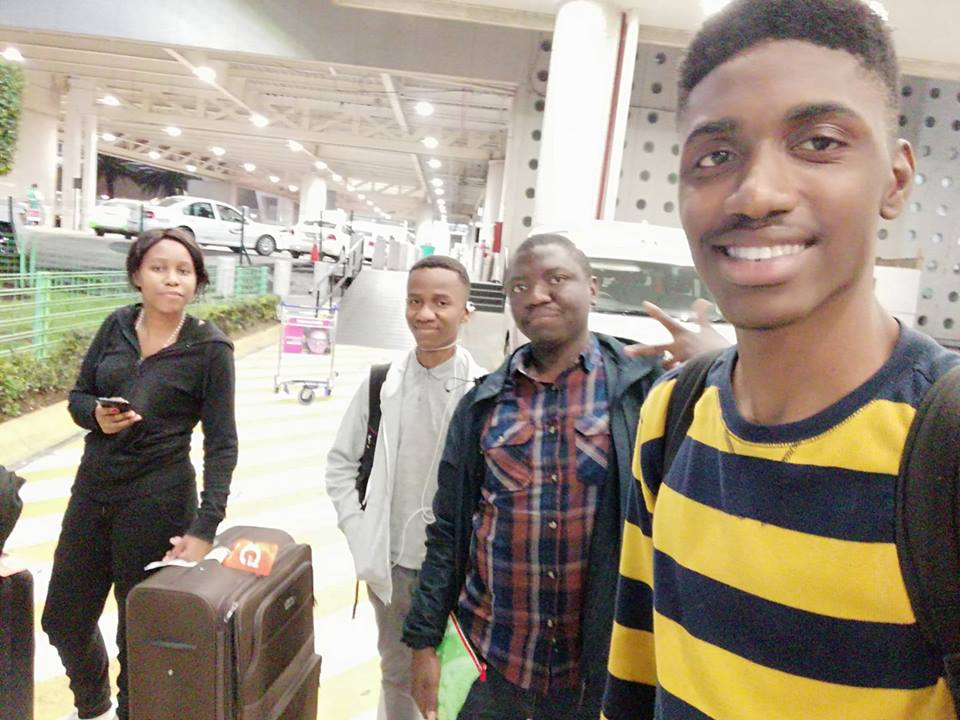 All the best to the Zambia Robotics team in Mexico showcasing &quot;UKA&quot; (a robot they created). <br>http://pic.twitter.com/mCbQNH3UNI