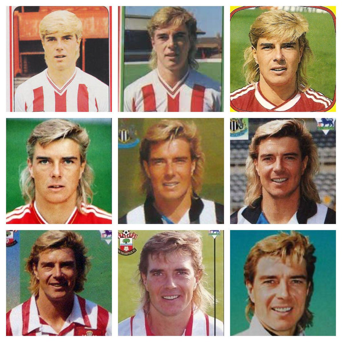 In honour of his 54th birthday, a celebration of Barry Venison's career in football stickers.  One mullet, so many memories...<br>http://pic.twitter.com/NNDwlBV0oh