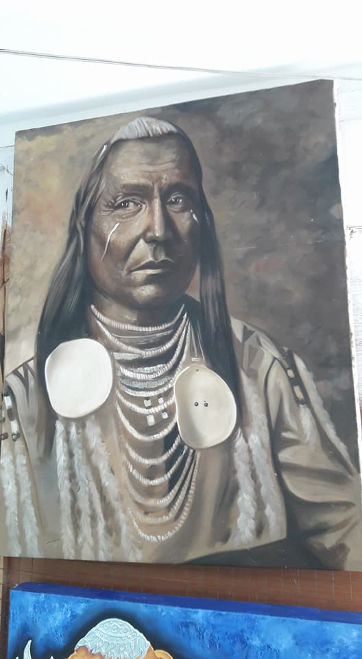 &#39;Red Wing&#39;#oilpainting #painting #art Available,$275,shipp incl #artforsale #artlovers #portrait #nativeamerican #nativeamericans #artist #artists #artnet #design #artlover #artlovers #usa #america #artmarket #artfair #artnet #decor #interiordecor #interiordecorating #paintings<br>http://pic.twitter.com/tcbVTSbXzg